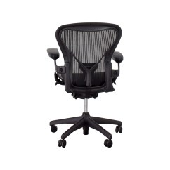Used Office Chairs Body Massage Chair 71 Off Herman Miller Aeron Task
