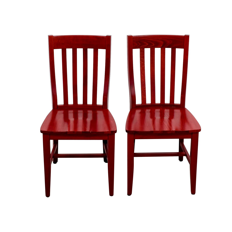 pottery barn chairs wedding chair sash alternatives 79 off schoolhouse