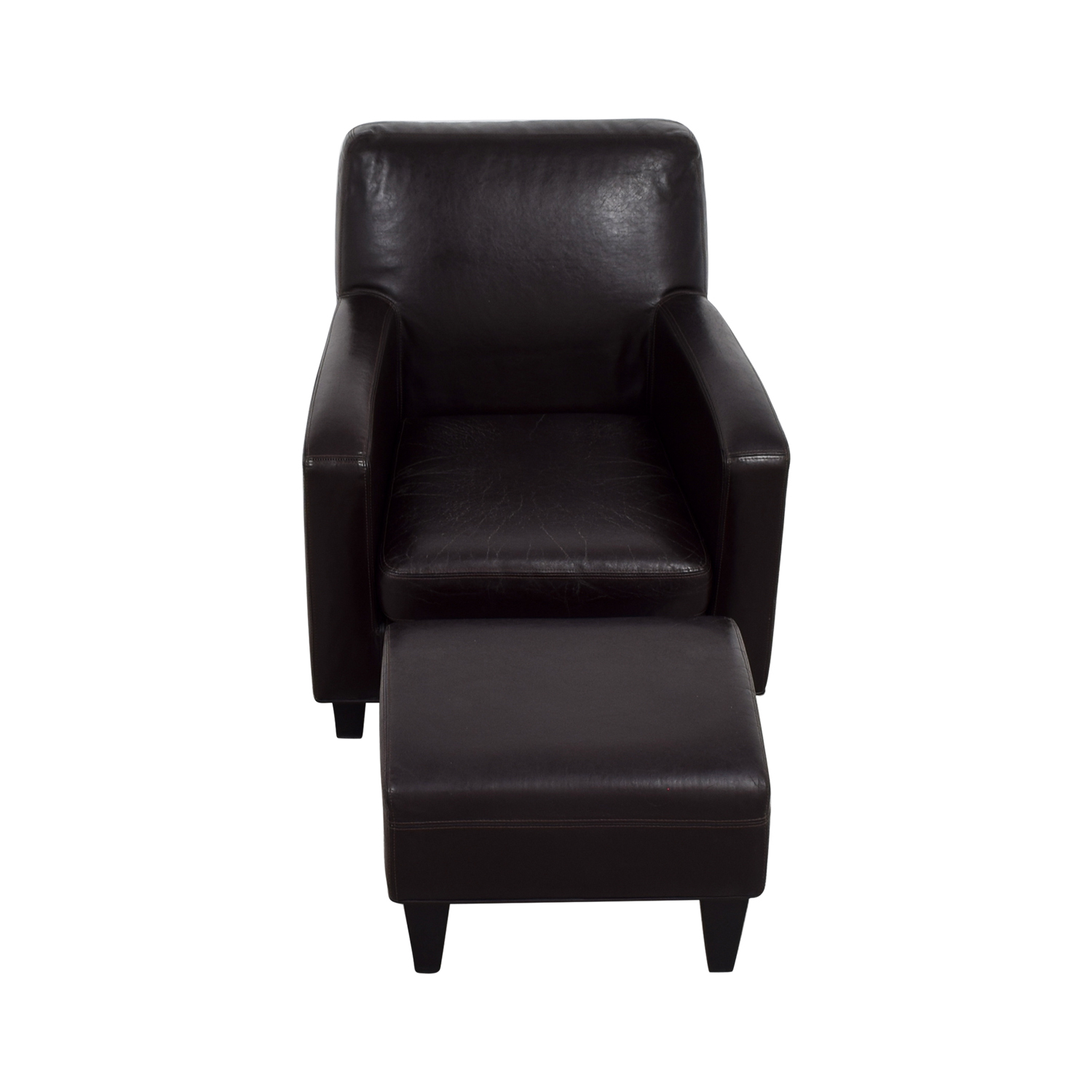 black leather chair ikea lower back support for office accent chairs used sale