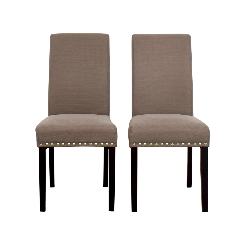 nailhead upholstered dining chair papasan cushion covers diy beautiful rtty1