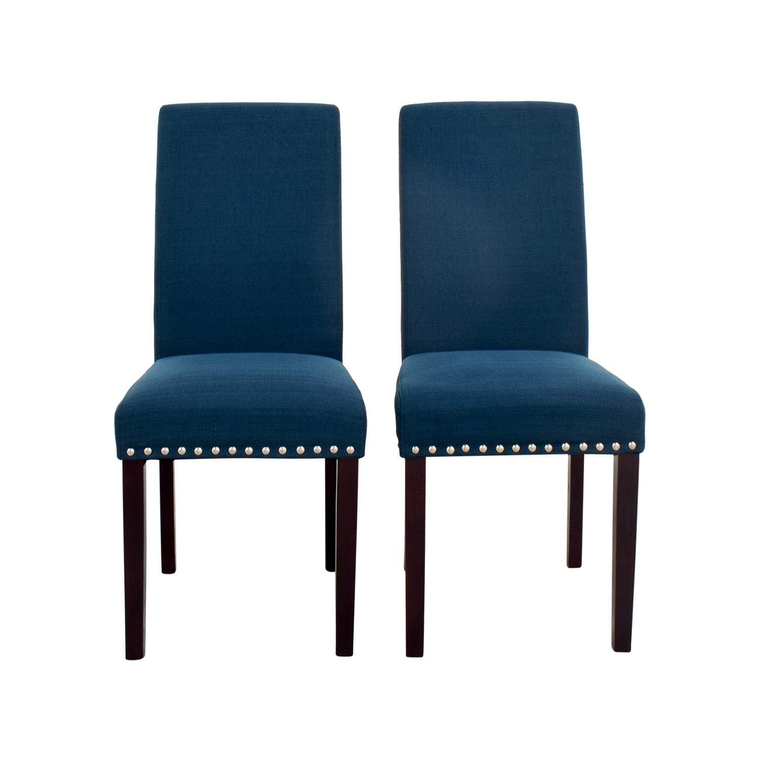 blue chair jam fancy rental nailhead dining chairs zef