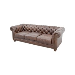 Raymour And Flanigan Chairs Office Chair Headrest Extension 36% Off - & Bellanest Saddler Tufted Leather Sofa / Sofas