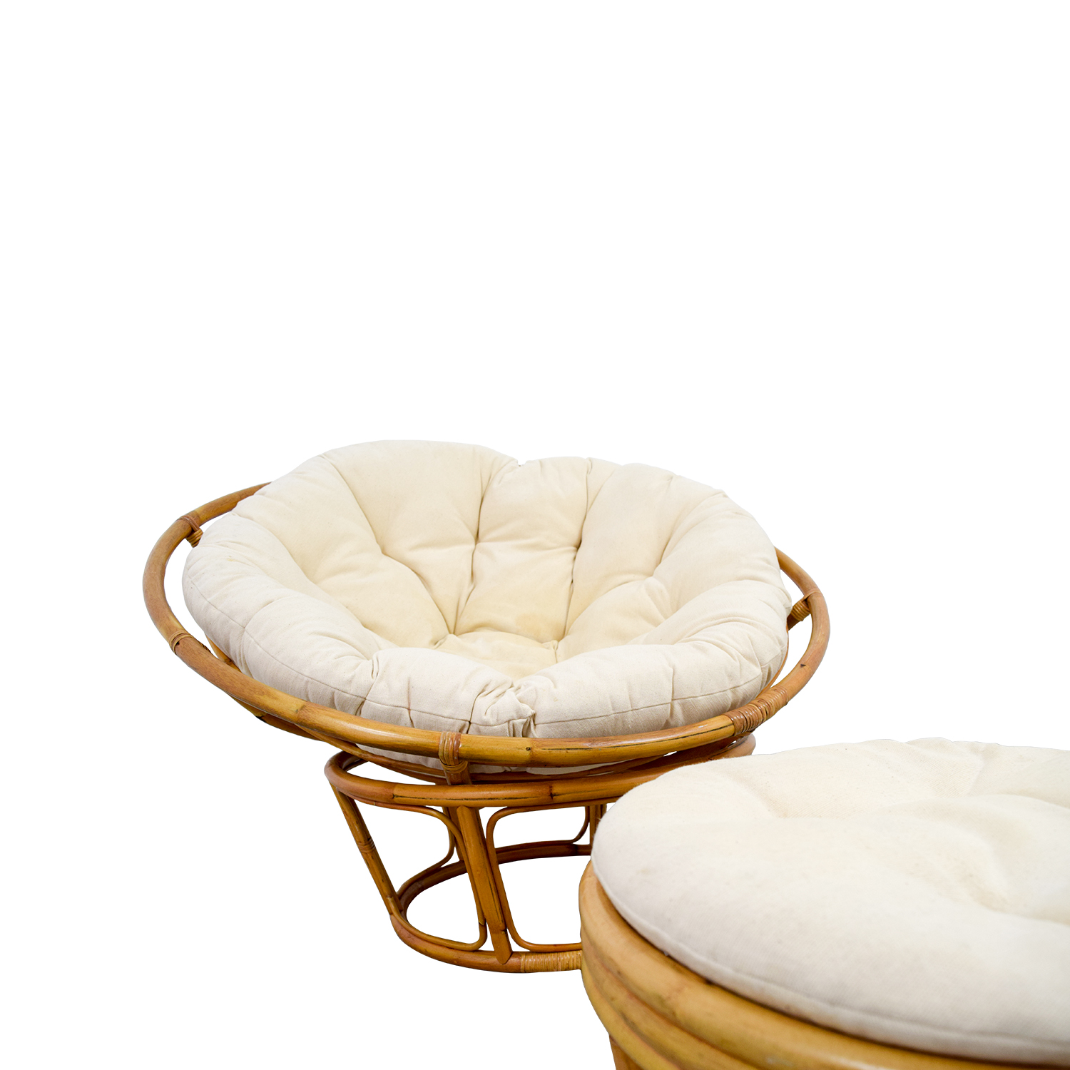 papasan chair ottoman target dining tables and chairs 68 off pier 1 with footstool