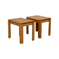 72% OFF - Butcher Block End Tables / Tables
