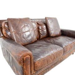 Jennifer Convertibles Leather Reclining Sofa Ottoman Single Bed 61 Off
