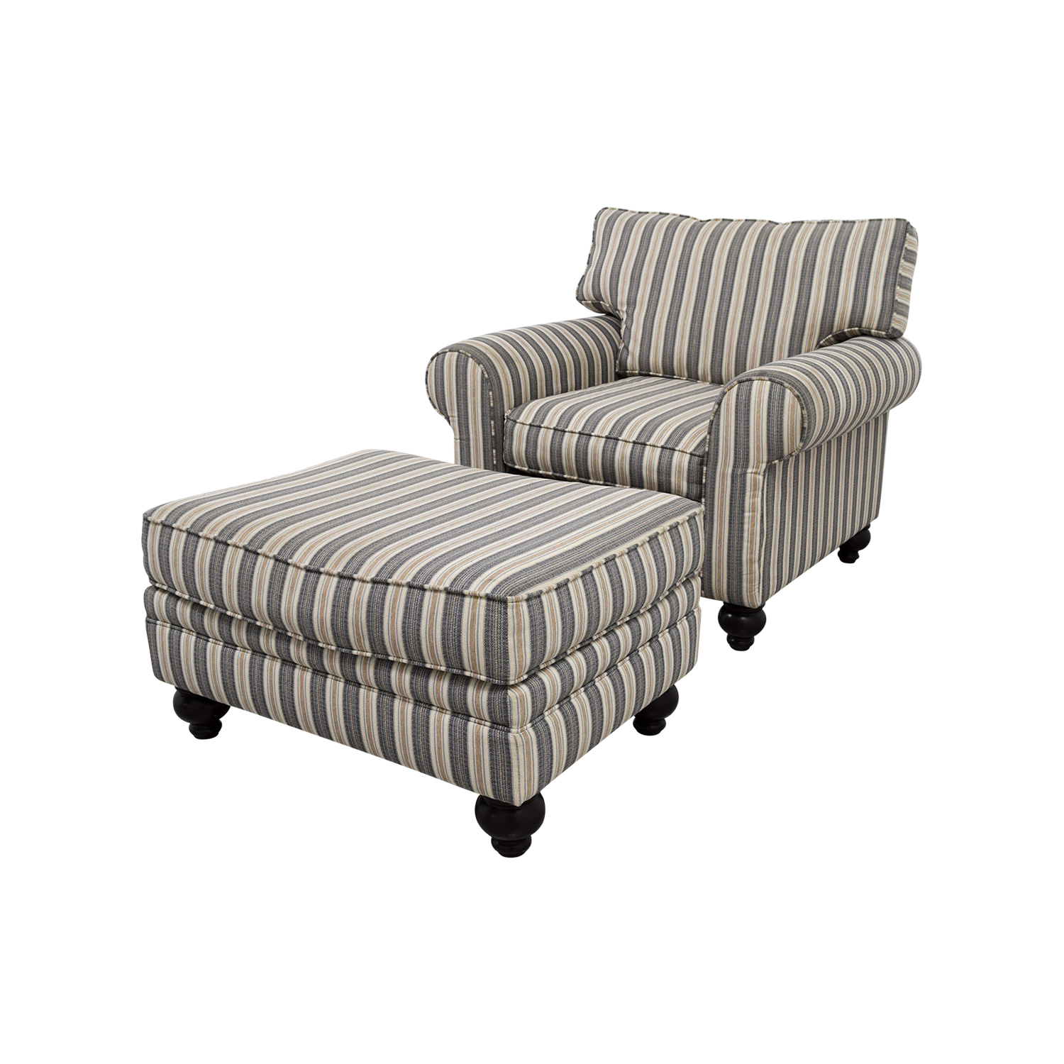 Chairs With Ottomans 90 Off Bob 39s Furniture Bob 39s Furniture Sofa Chair With