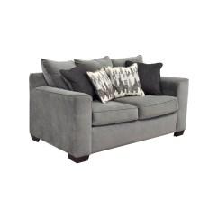 Bobs Furniture Sofa Recliner Wall Bed Uk 44 Off Bob 39s Grey Loveseat
