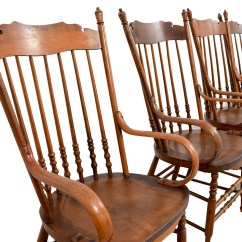 Windsor Chair With Arms Fisher Price Feeding 89 Off Antique Chairs