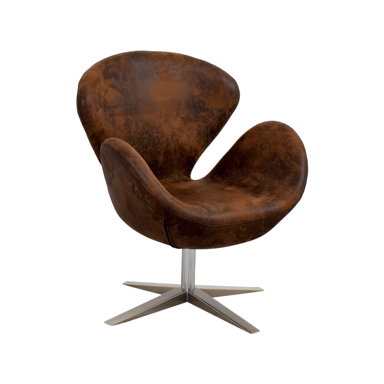 66 OFF  Target Target Modern Petal Chair Brown  Chairs