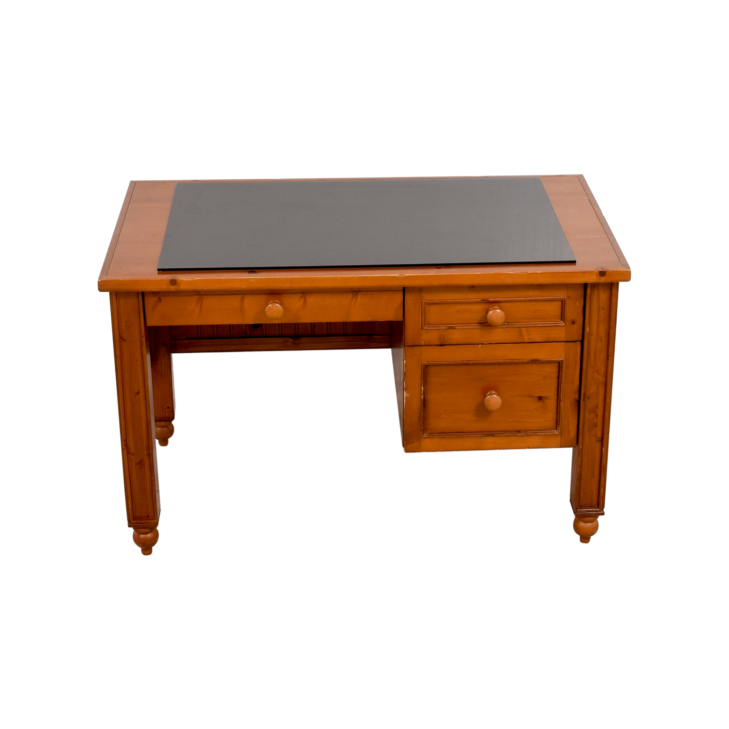 67 OFF  Pottery Barn Pottery Barn Solid Wood Desk  Tables