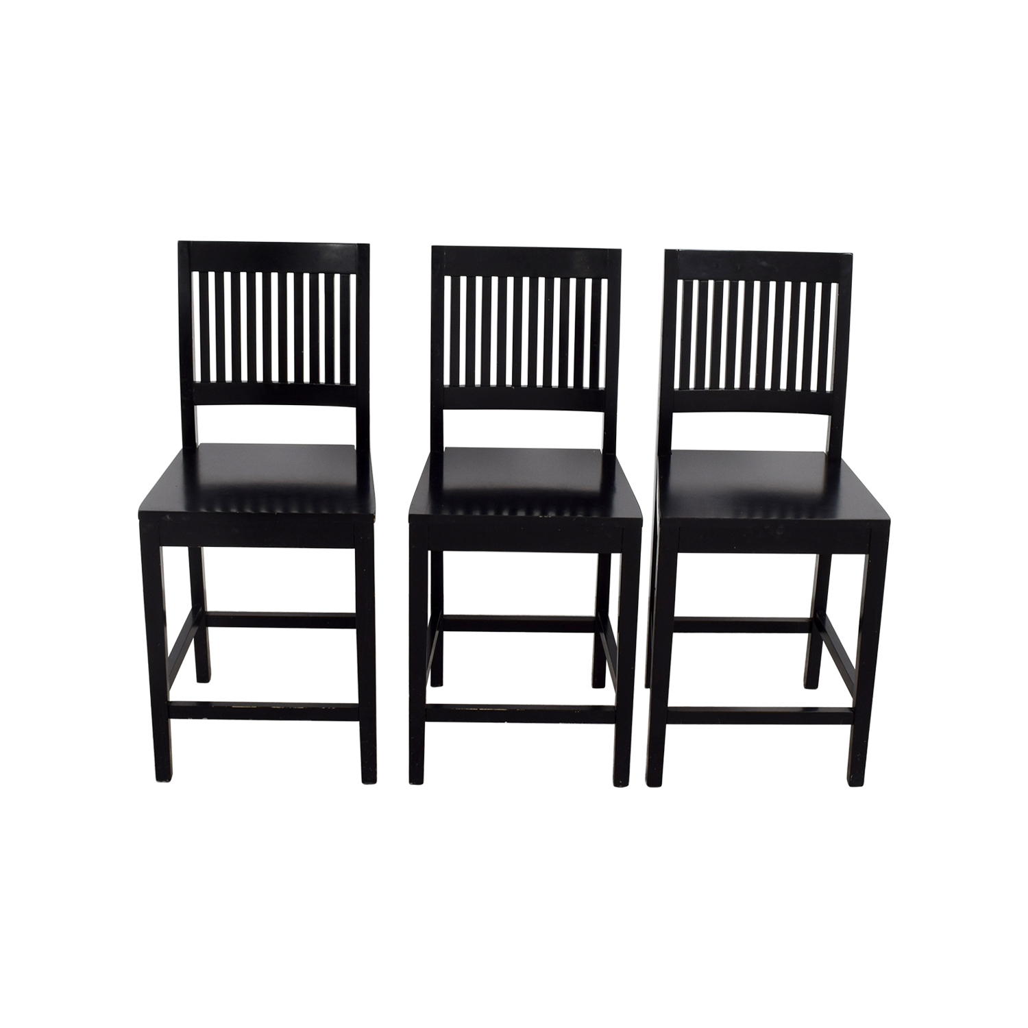 chairs crate and barrel wooden z high chair 89 off counter height