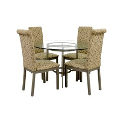 Table And Chairs Set Wooden Chair Swing Plans Dining Sets Used For Sale