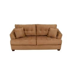 Tan Furniture Sofa Natuzzi Reviews Uk 69 Off Crate And Barrel Simone Daybed