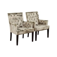 Z Gallerie Chairs Birth Chair For Delivery 90 Off Lola Bella Grey Tufted Arm