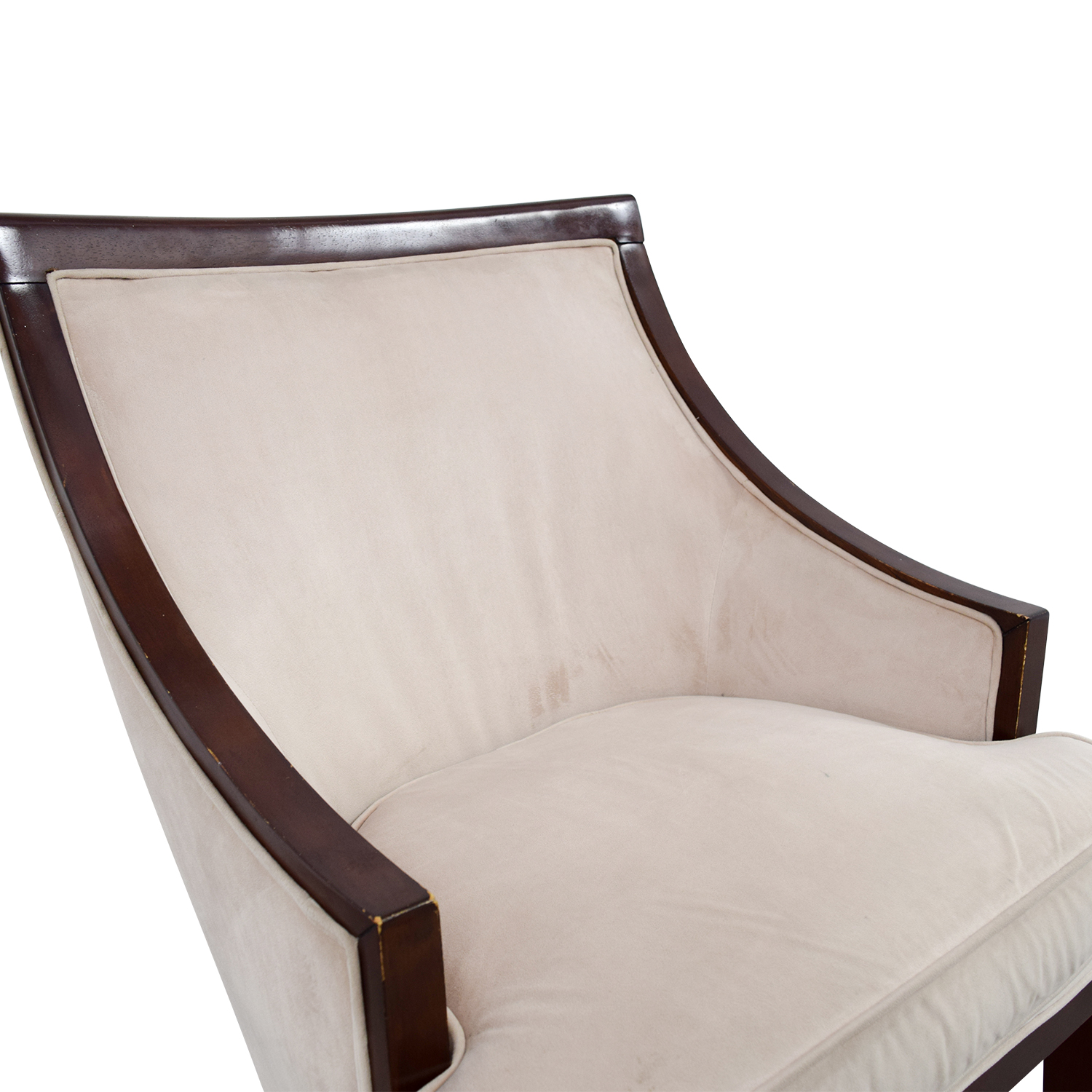 90 OFF  Cream Armed Accent Chair  Chairs