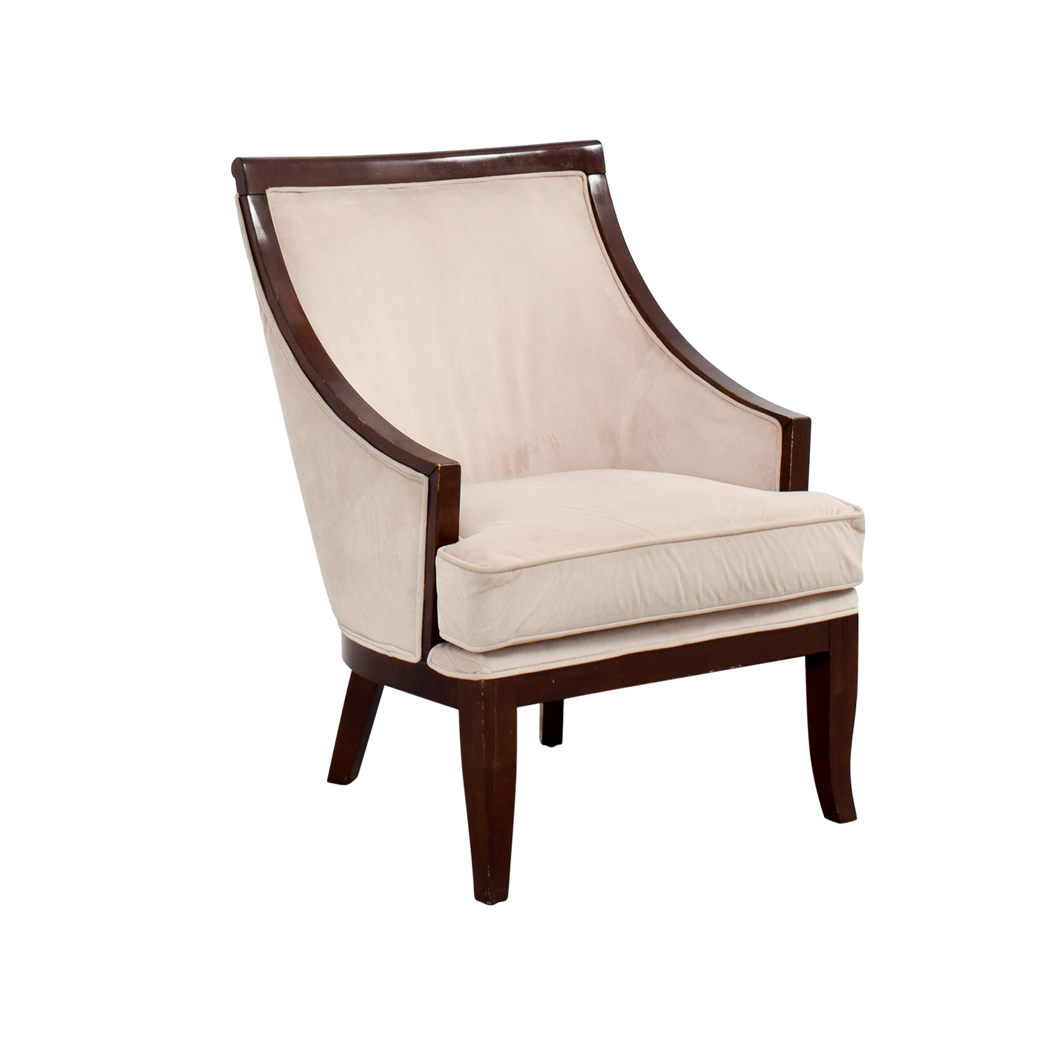 Cream Accent Chair 90 Off Cream Armed Accent Chair Chairs