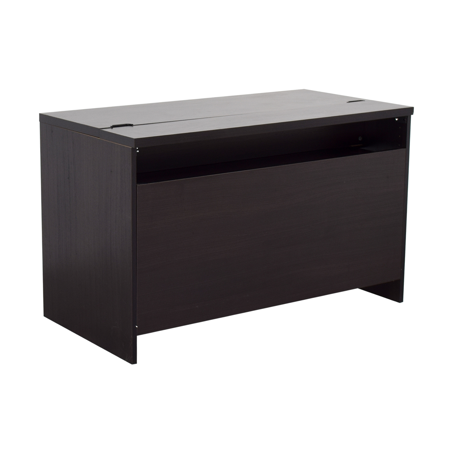 90 OFF  IKEA IKEA Black Office Desk  Tables
