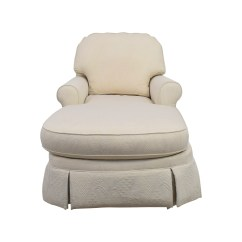 White Chaise Chair Lift For Elderly 85 Off Ethan Allen Victoria Lounge Sofas Buy