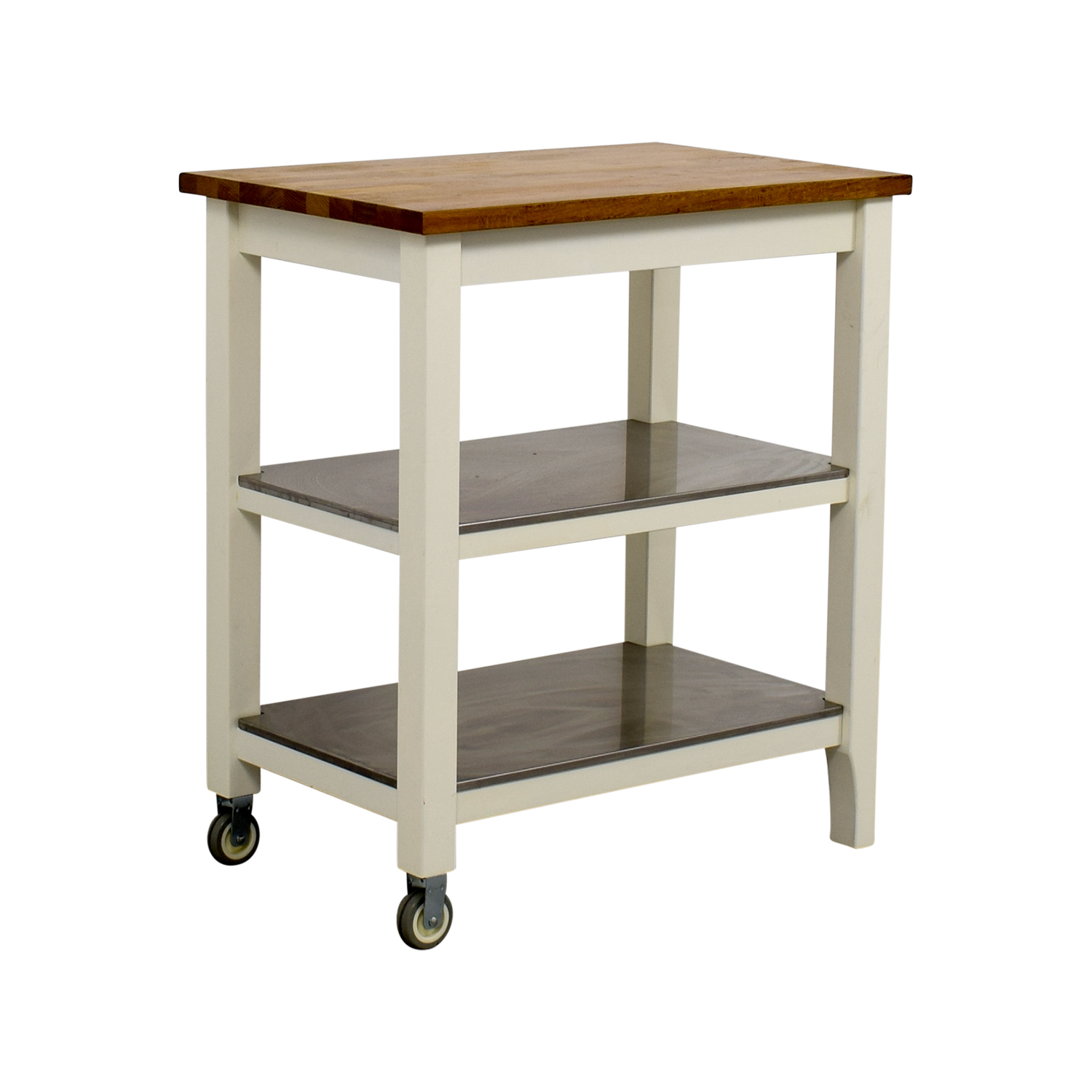 76 OFF  IKEA IKEA Stenstorp Kitchen Cart  Tables