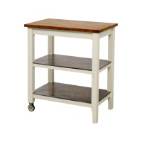 76% OFF - IKEA IKEA Stenstorp Kitchen Cart / Tables