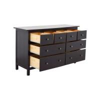 28% OFF - IKEA IKEA Hemnes Black Dresser / Storage