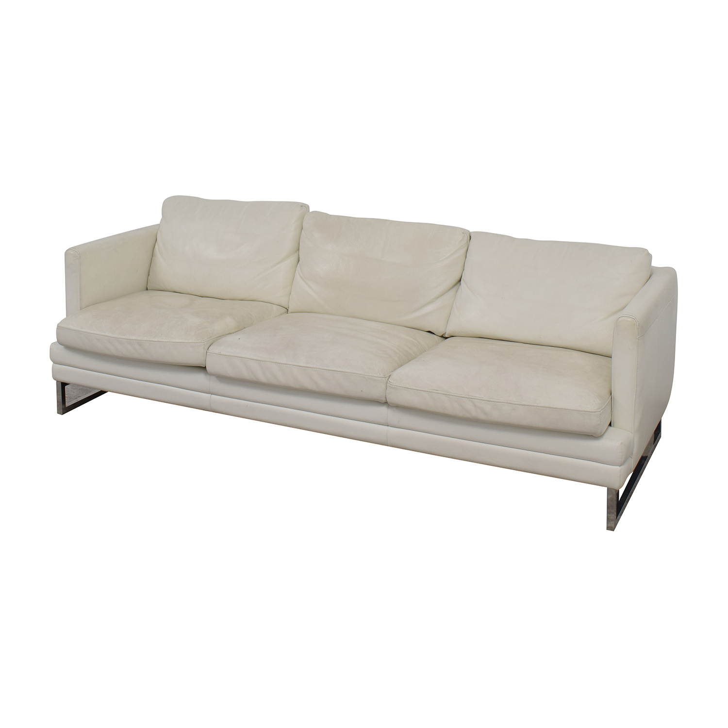 z gallerie chairs sport brella chair recliner 50 off white leather three