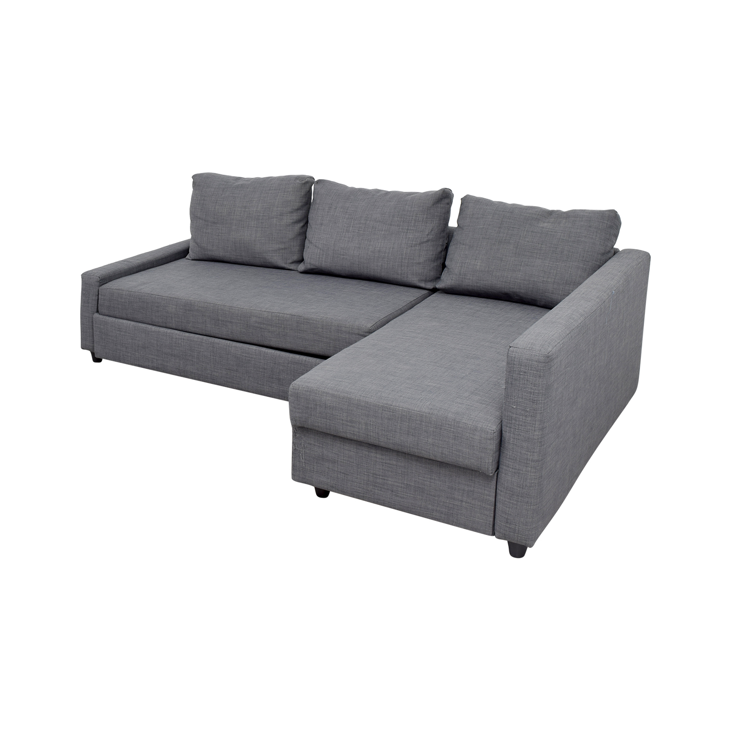 ikea sofa sleeper sectional with air coil mattress 41 off grey chaise sofas