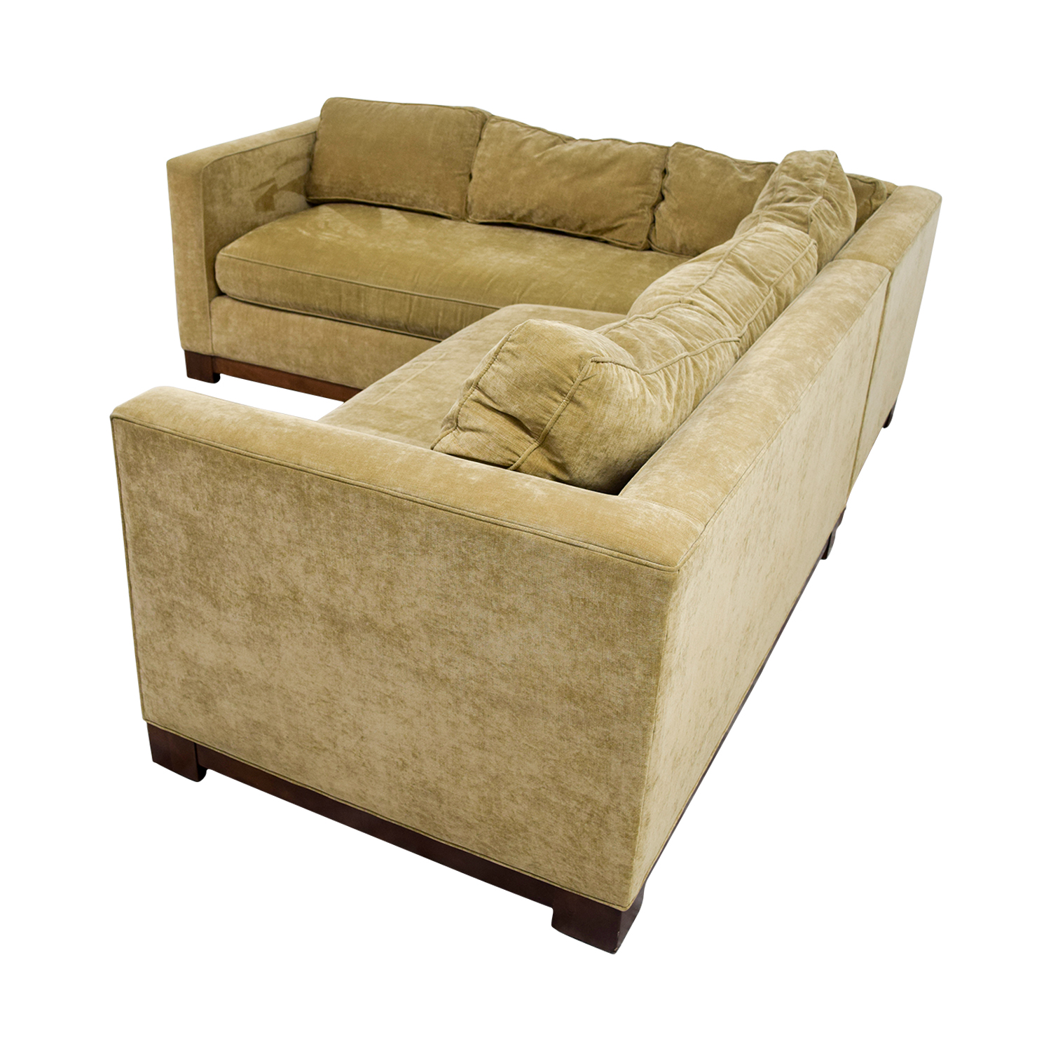 gold sectional sofa shabby chic ancient red tone bed