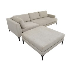 Small Sectional Sofa West Elm Bradington Young Leather 42 Off Andes Terminal Chaise