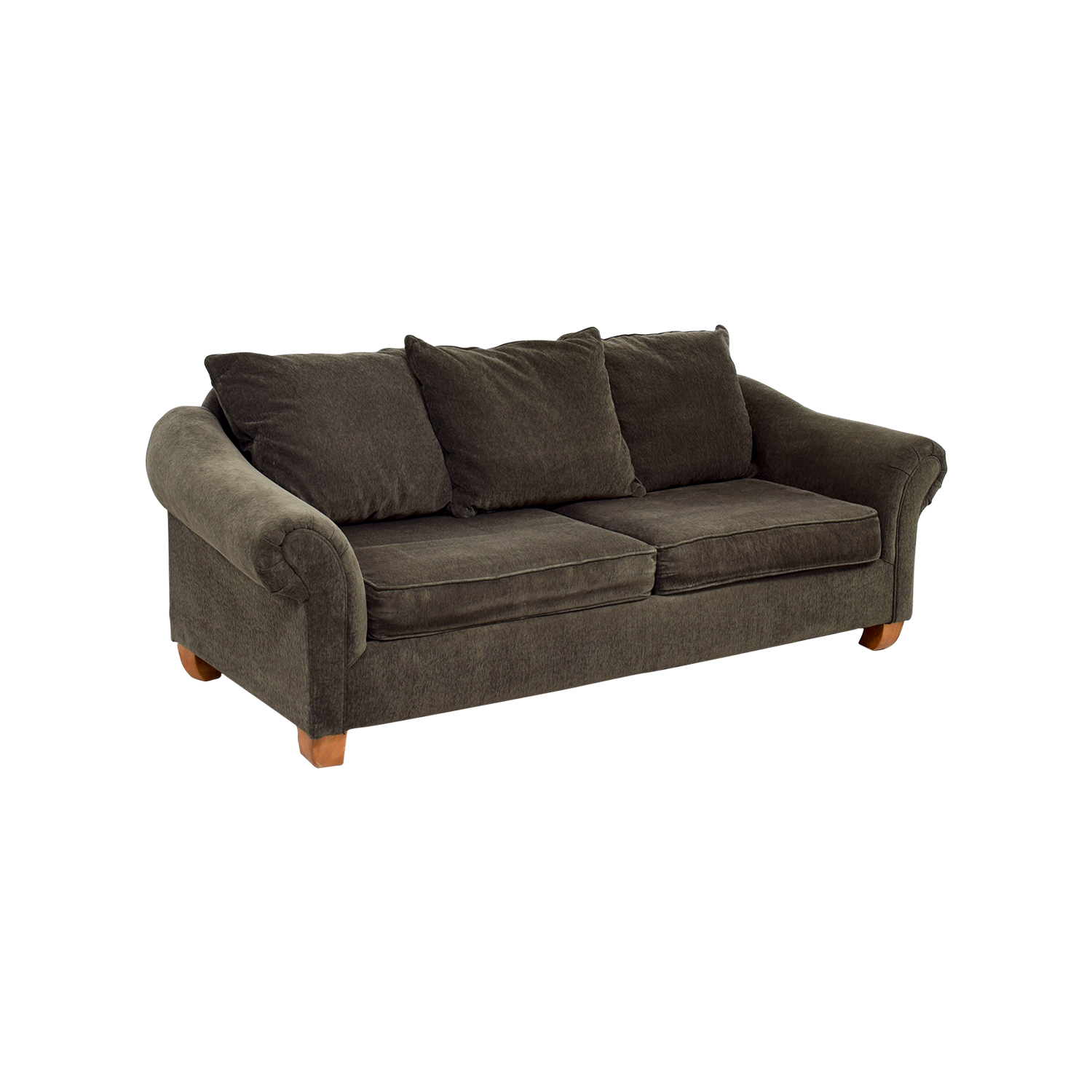 star furniture sofas voyager george sofa 85 off brown curved arm