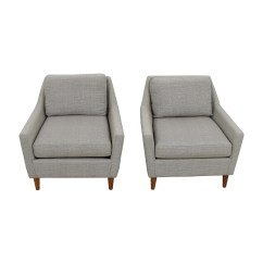 West Elm Everett Chair Design Of Love 60 Off Grey Arm Chairs