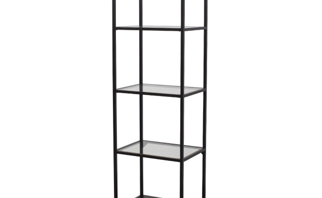 71 Off Ikea Ikea Klingsbo Glass Cabinet Storage