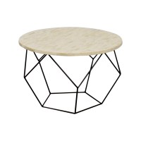 42% OFF - West Elm West Elm Origami Bone Coffee Table / Tables