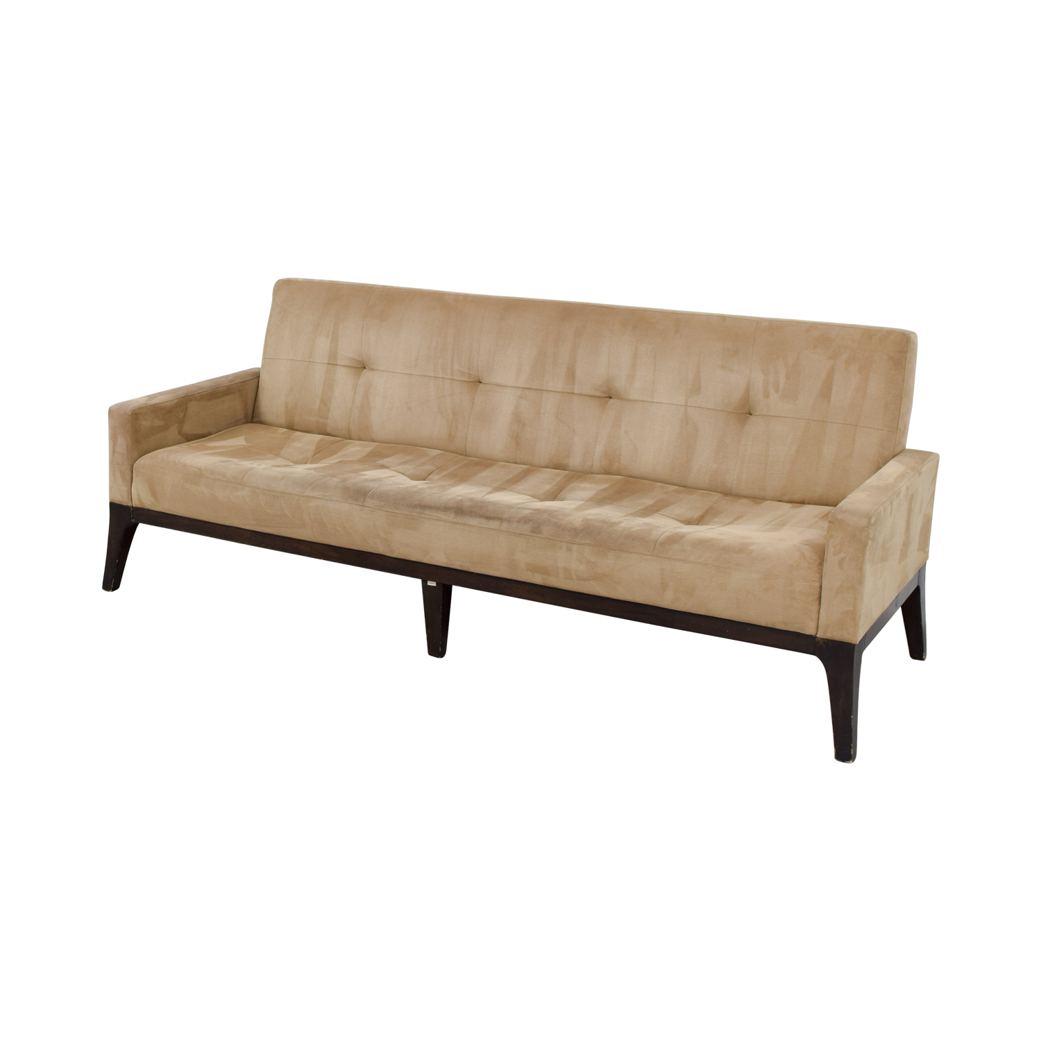 small sectional sofa west elm cotton covers 81 off mid century tan tufted