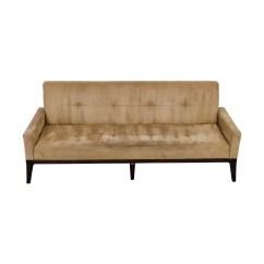 Used Sofa Custom Size Uk Tufted 56 Off Ashley Furniture Delta City Rust
