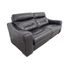 Macy S Furniture Sofa Beds Bronze Velvet 54% Off - Macy's Black Leather Recliner / Chairs
