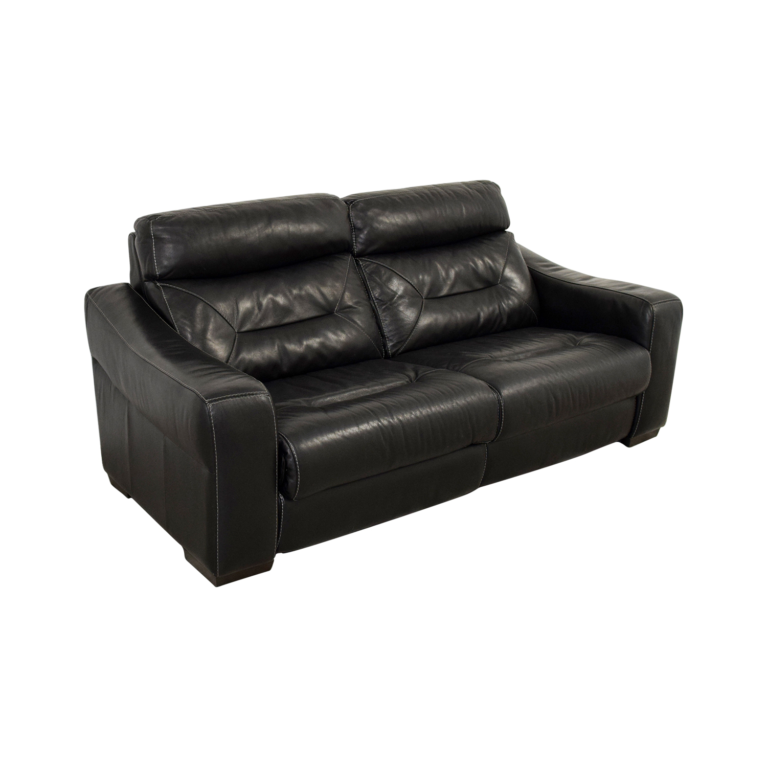macy s furniture sofa tables french provencial 54% off - macy's black leather recliner / chairs
