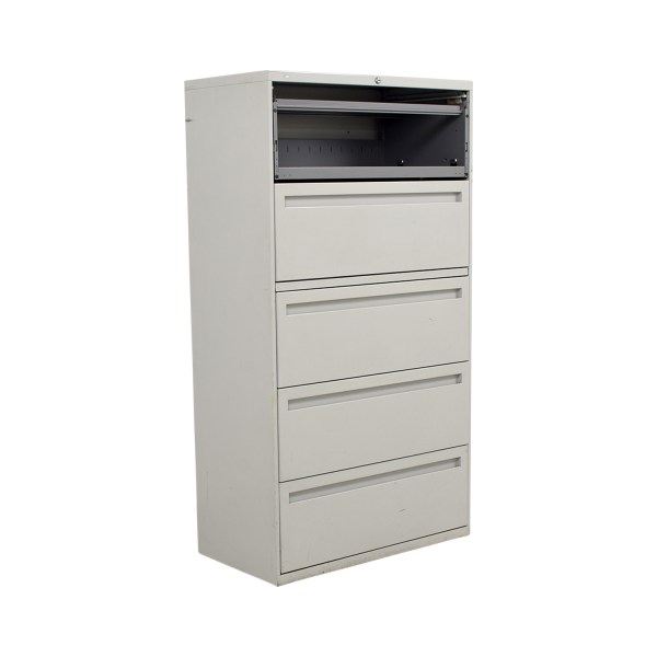 Five Drawer Lateral File Cabinet