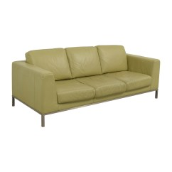 Italsofa Loveseat Ethan Allen Furniture Sofa Beds 26 Off Green Leather Sofas