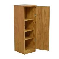 90% OFF - Wooden Bookcase with Door / Storage