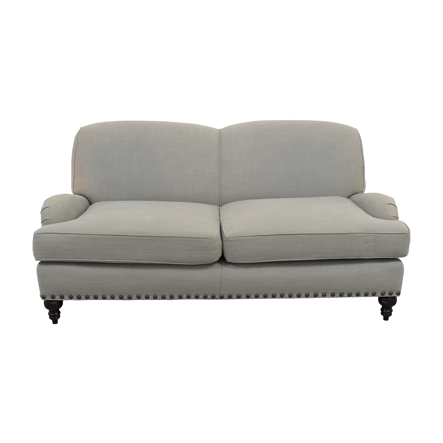 arhaus leather sofa where to buy cheap 69 off macy 39s tufted gray sofas