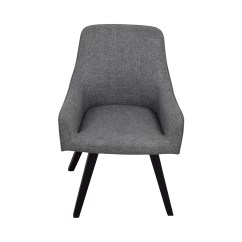 Barrel Accent Chair Ergonomic Penang 57 Off Crate And Harvey Grey