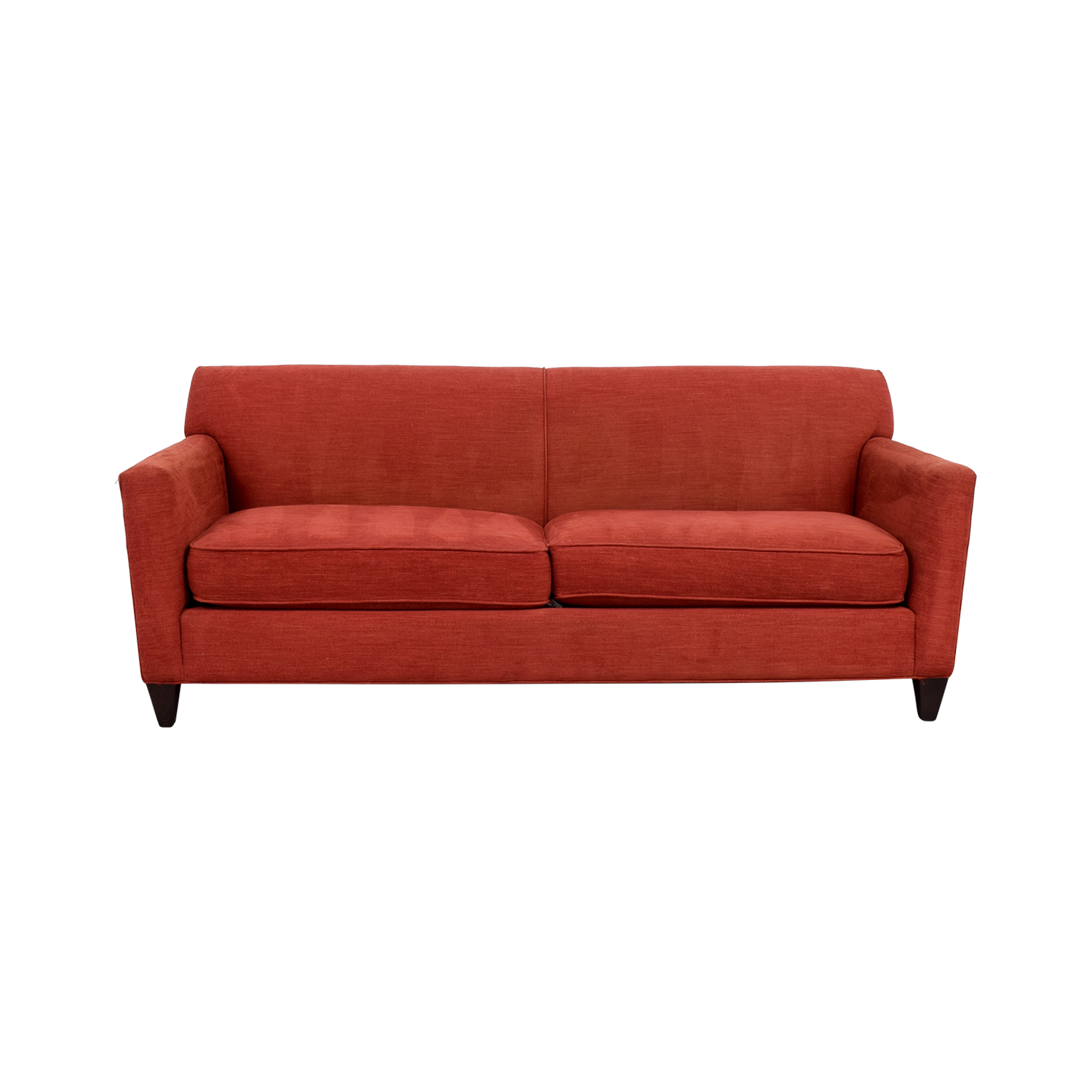 crate and barrel verano sofa smoke best rated small sectional hennessy 56 off cardinal red