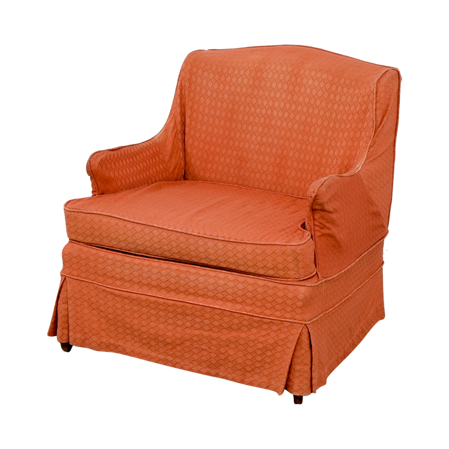 Coral Chair 90 Off Vinatage French Provincial Coral Accent Chair