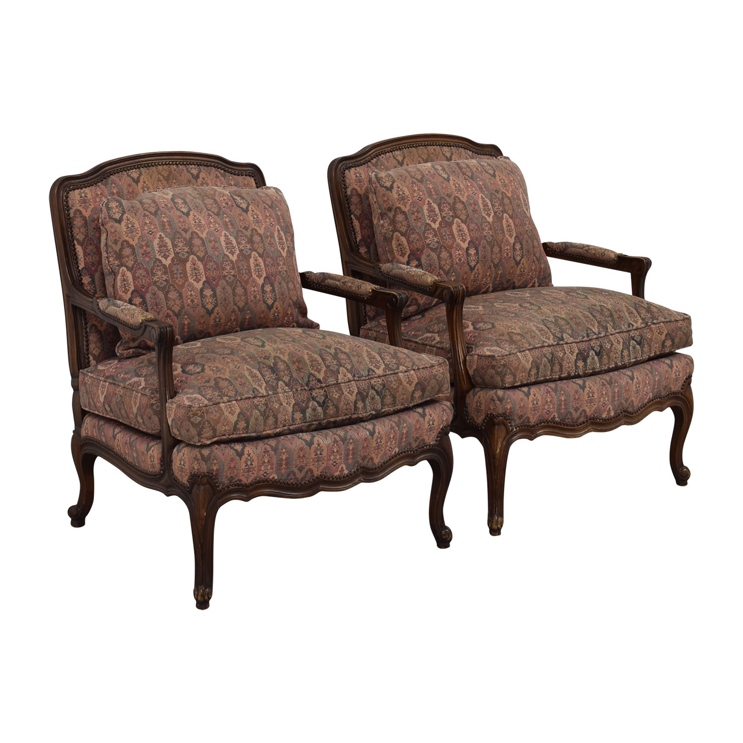 Used Wingback Chairs 85 Off Trs Furniture Trs Furniture Low Wing Back Arm