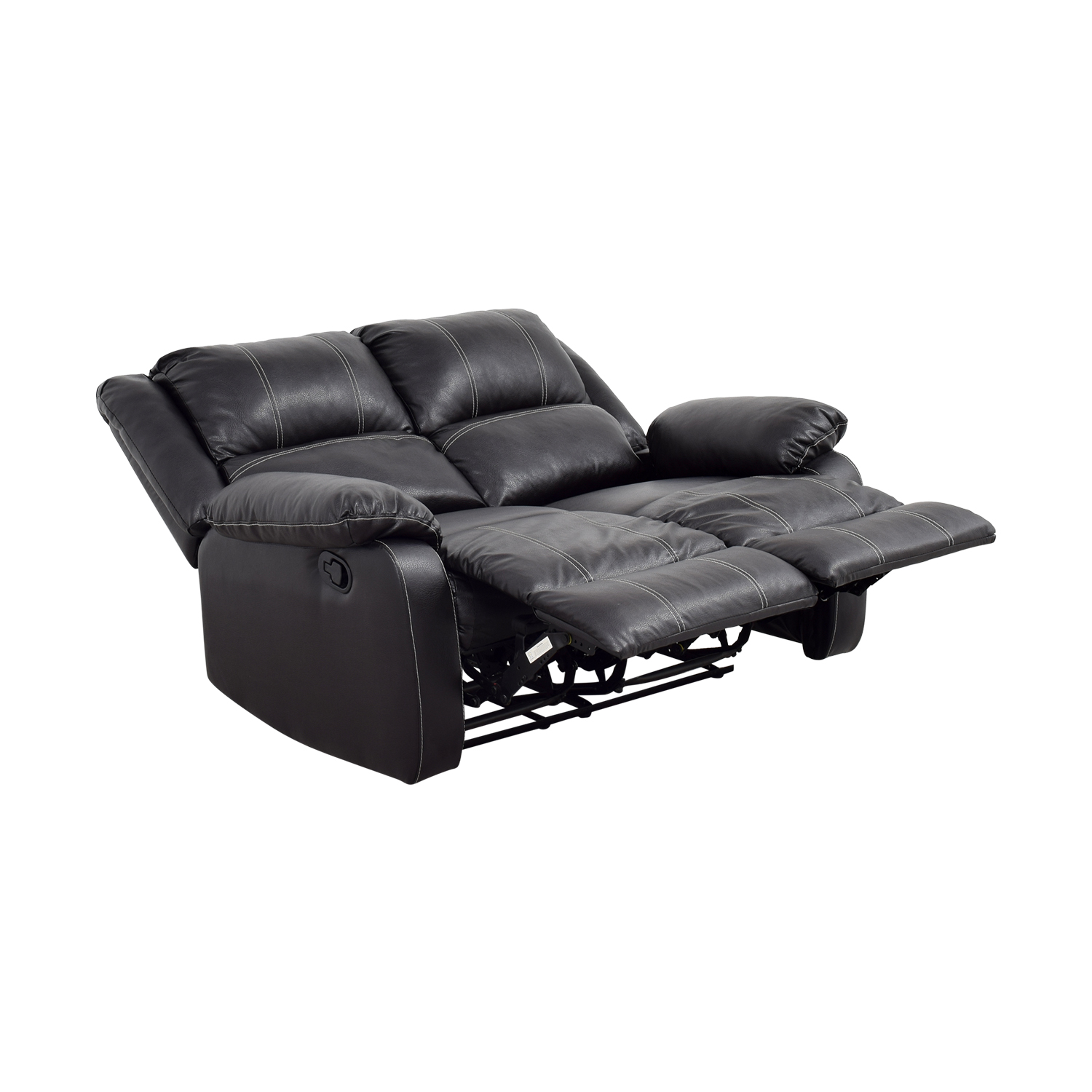 recliner sofa leather black beds melbourne australia 49 off acme reclining loveseat sofas