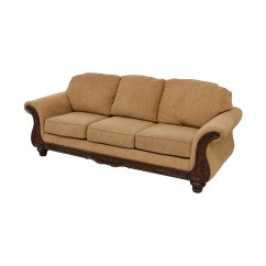 Haverty Sofa Mauve Throws 80 Off 39s Gold Carved Wood Couch Sofas
