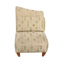 White And Gold Chair Portable Reading 90 Off Art Deco Accent Chairs