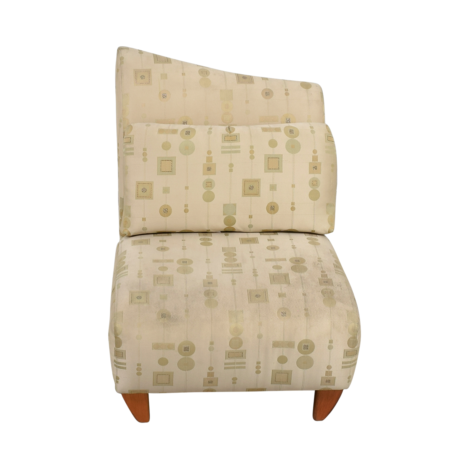 White And Gold Chair 90 Off Art Deco White And Gold Accent Chair Chairs