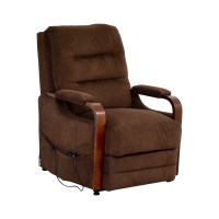 90% OFF - Bob's Furniture Bob's Furniture Brown Recliner ...